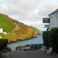 Port Gaverne Cornwall