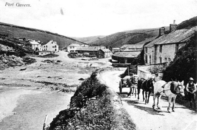 Carting Sea Sand c1895. Note the heaps of sand on the beach